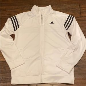 Adidas zippered jacket like new condition